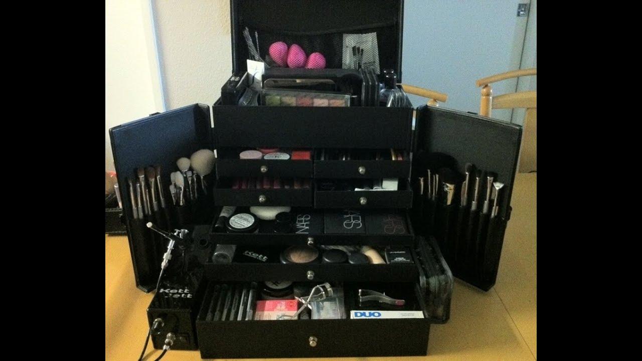 Mac professional makeup cases