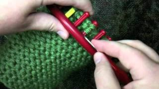 How To Decrease The Crown Of A Loom Knit Hat