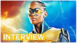 Black Lightning - the coolest superhero on the block - exclusive interview with the family (2018)