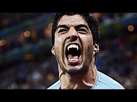 2014 World Cup | Suárez bites again | Uruguay 1-0 Italy