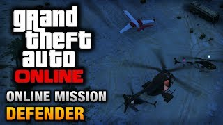 GTA Online Mission Defender [Hard Difficulty]