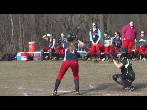 Chazy - Westport Softball 4-15-13
