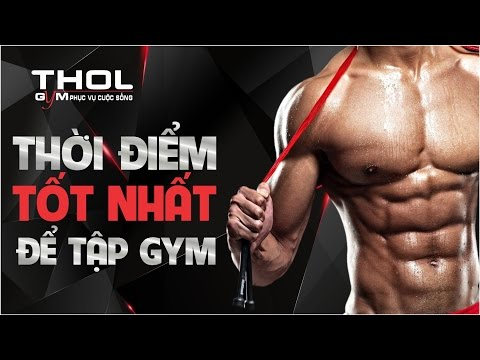 DN Vlog - Tập Gym vào thời điểm nào là tốt nhất trong ngày? Tăng cơ, sức mạnh và giảm mỡ