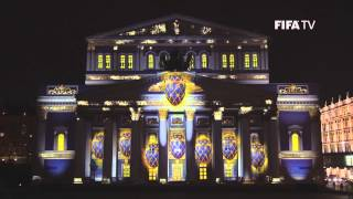 The Official Emblem of the 2018 FIFA <b>World Cup</b> Russia™ was projected on one of Moscow&#39;s most famous landmarks.</div><div class=