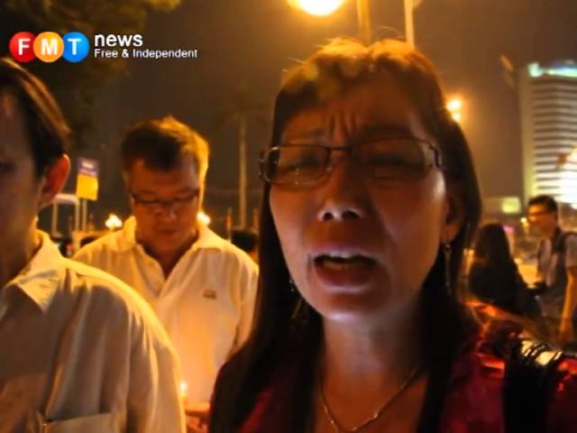Teresa Kok: 'I did not say it'