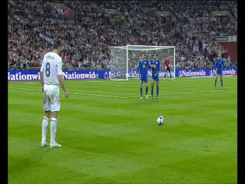 England 5 - 1 Kazakhstan - World Cup 2010 Qualifier