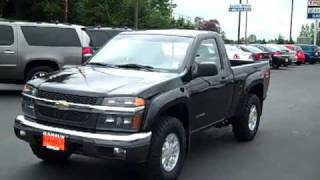 2005 Chevrolet Colorado Regular Cab Black Enumclaw, Seattle, Puyallup, Tacoma, Auburn, WA - 10067A videos