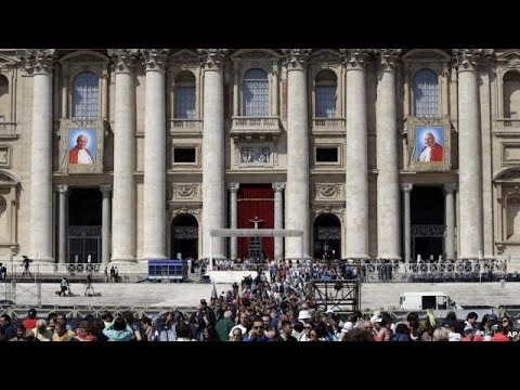 John Paul II Sainthood - Canonization by Pope Francis April 27, 2014