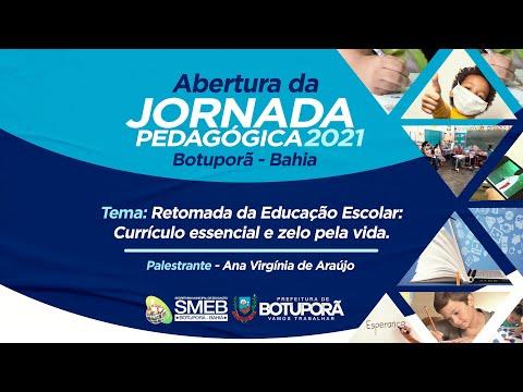Live - Jornada Pedagogica (2021)   Currículo Essencial e Zelo Pela Vida