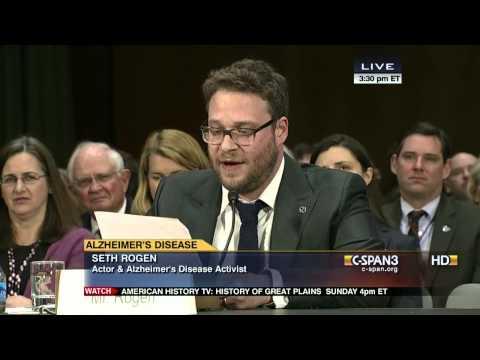 Seth Rogen Opening Statement (C-SPAN)