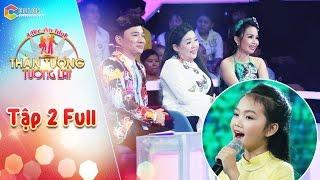 Thần tượng tương lai   tập 2 full HD: Thu Hiền, Cẩm Ly, Quang Linh mê mẩn giọng ca 13 tuổi