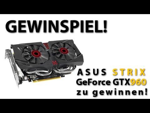 Bild: BEENDET! - Gewinnnspiel: ASUS Strix Geforce GTX 960 OC Grafikkarten