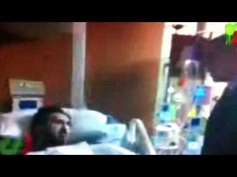 Obama visits Injured Asadullah Khalid in a U.S Hospital 2012