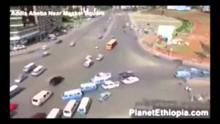 That's Why We Love Ethiopia! No Sign No Chaos No Accident (Organic Traffic in Addis Abeba!)