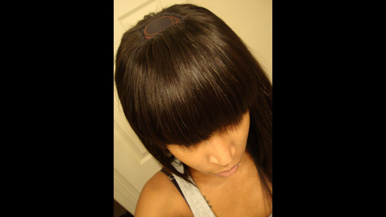 Bob with Chinese Bang Sew in Weave