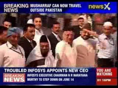 Parvez Musharraf allowed to leave Pakistan by Court