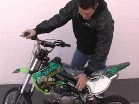 coolster 214fc 125cc pit dirt bike mini kids youtube