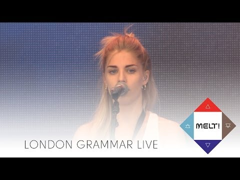 London Grammar: Hey now / Darling are you gonna leave me / Wasting my young years