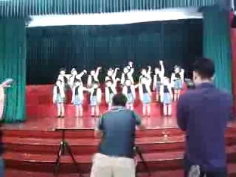Huyền Anh quay Nhảy cùng BI BI  bài GIA ĐÌNH NHỎ, HẠNH PHÚC TO 29 - 9 - 2013