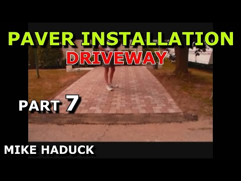 How I Install A Paver Driveway  Mike Haduck  Youtube. Patio Drawing Software Free. Patio Furniture For Two. Build Ground Level Patio. Patio Paving Stones Kent. Small Patio Table And 4 Chairs. Resin Patio Table With Umbrella. Furniture Patio For Sale. Awesome Small Patio Ideas
