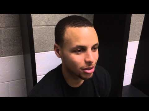 Stephen Curry Talks Post Season,Under Amrour and Competition