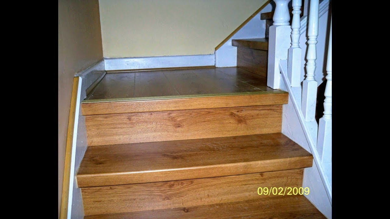 Installing Laminate Flooring On Stairs Stair Renovation