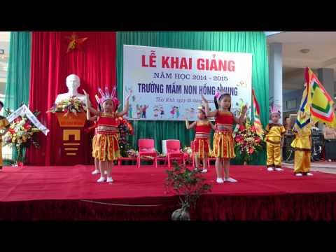 Dong mau Lac Hong - Mn Hong Nhung TB Khai giang 5 - 9 - 2014