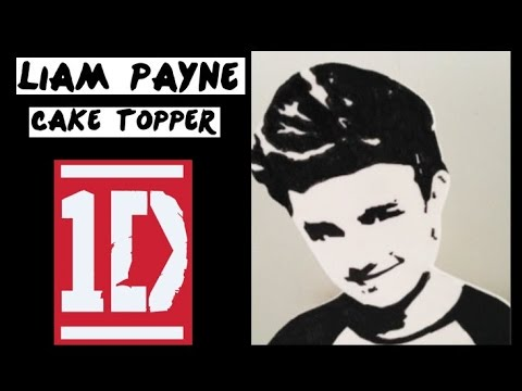 1D Liam Payne Cake Topper! (How to make)