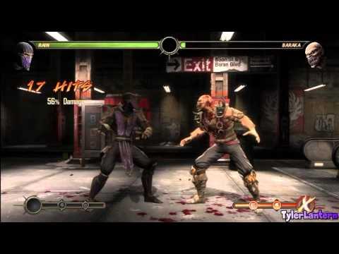 MK9 - Rain Combo Compilation - Mortal Kombat 9 (2011)