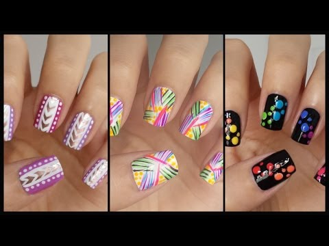 Easy Nail Art For Beginners!!! #13 | MissJenFABULOUS