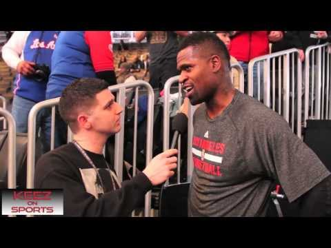 Los Angeles Clippers G/F Stephen Jackson talks kicks with Keez on Sports