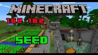 Minecraft 1.5.2/1.6.2 Seed Aldea Con Doble Mob Spawner