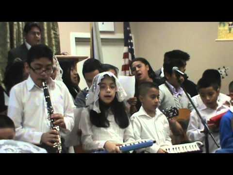 Iglesia de Dios Israelita El Elohe Israel en NY (Estudiantina Izhar) - Salmo 8