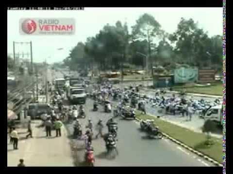 Đắng lòng vụ hàng trăm người hôi của khi xe chở bia gặp nạn ở Đồng Nai - Clip Chanel