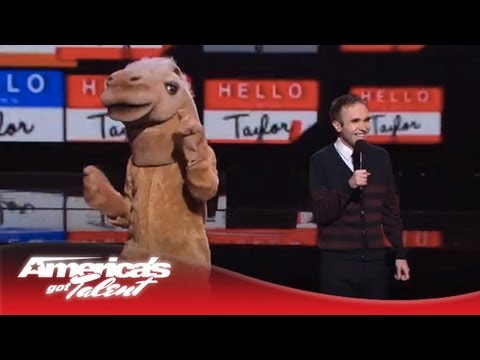Taylor Williamson - Picks on Heidi Klum's Love of Animals - America's Got Talent 2013 Finals