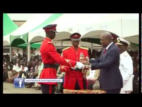 President Reviews 2013 Graduation Parade of the Ghana Military Academy