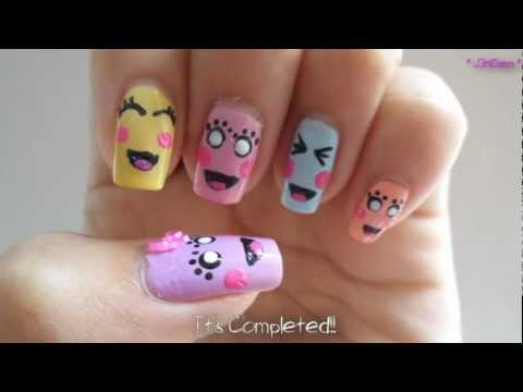 Simple And Easy Wedding Inspired Nail Art Nails Video