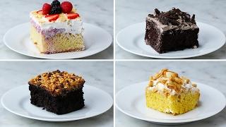 Easy Poke Cake 4 Ways