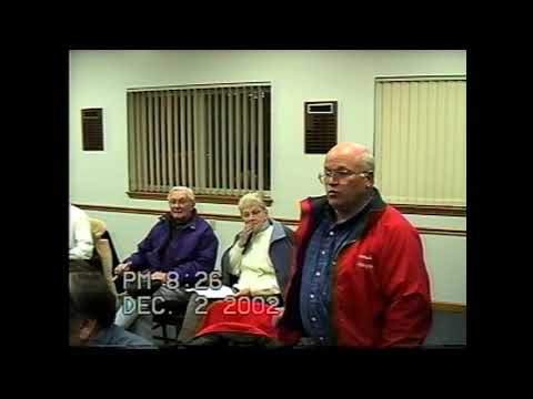 Rouses Point Village Board Meeting part two 12-2-02