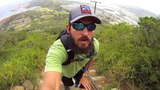Koko Head Hike Oahu Hawaii 6-17-11: Filmed Using A GoPro