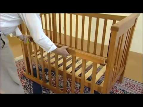 Baby Cot Assembly Process Youtube