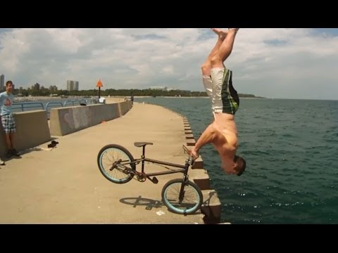 Tim Knoll - 2014 Parkour BMX Bike Stunts
