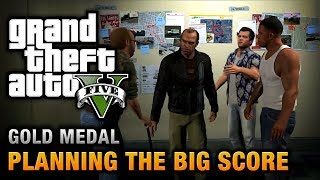 GTA 5 Mission #76 Planning The Big Score (Obvious