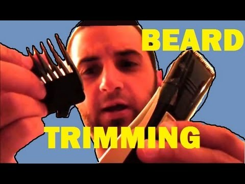 How to Evenly Trim your Own Beard