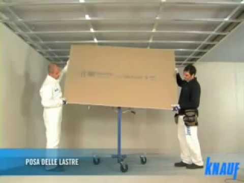 Wykonanie konstrukcji i montaż sufitu podwieszanego - Knauf D112