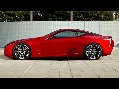 Lexus LF-LC Concept -- 2012 Detroit Auto Show