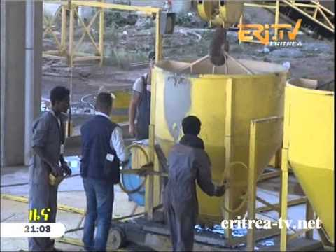 Eritrean Construction of housing complexes in Asmara begins