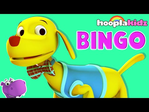 BINGO | Bingo Dog Song | Kids Songs and Nursery Rhymes for Children | Nursery Rhymes with Riddles