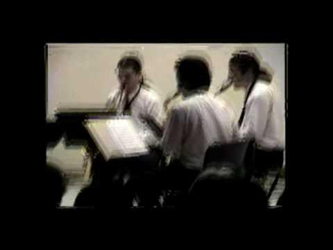 Cuarteto de saxofones del compositor Gustavo Becerra Schmidt (Parte 3)