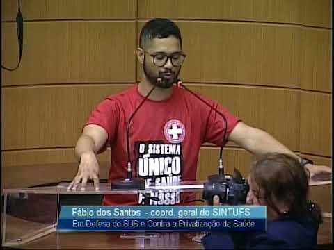 Imagem para vídeo Fórum Sergipano em defesa do SUS contra a Privatização da Saúde na ALESE